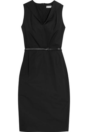 MAX MARA Belted cotton dress