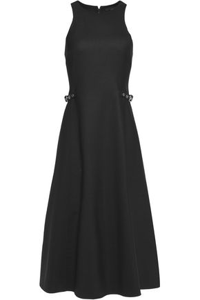 ALEXANDER WANG Racer-back wool-blend dress