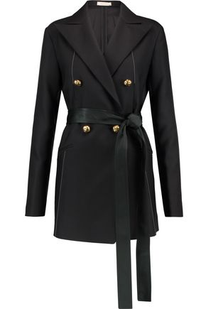 NINA RICCI Wool and silk-blend jacket