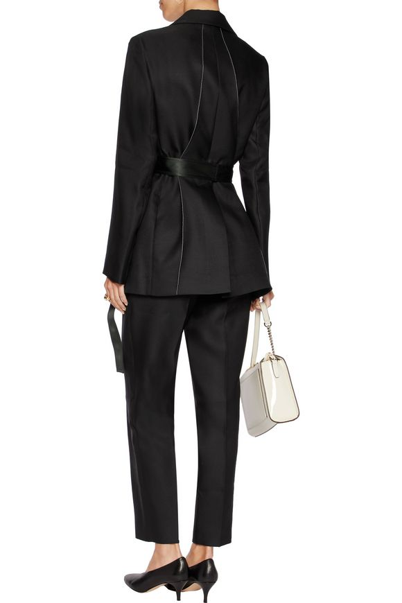Wool and silk-blend jacket | NINA RICCI | Sale up to 70% off | THE OUTNET