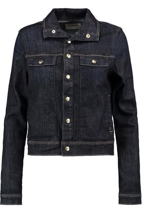 FRAME Le Cropped denim jacket