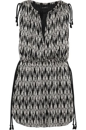 ISABEL MARANT Printed voile mini dress
