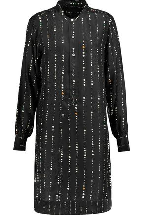 ISABEL MARANT Gaia printed silk mini dress