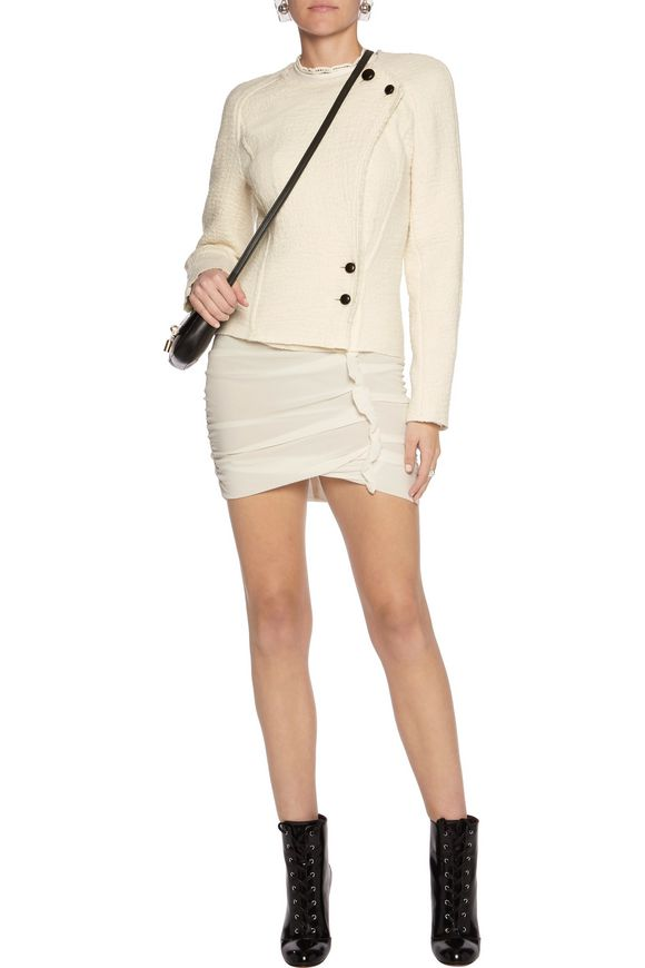 Lawrie wrap-effect wool jacket | ISABEL MARANT | Sale up to 70% off | THE  OUTNET