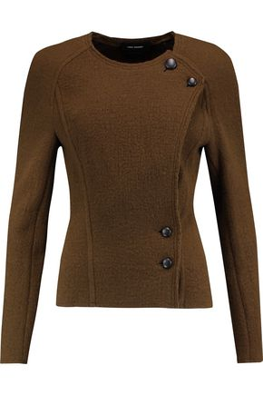 ISABEL MARANT Lawrie wrap-effect wool jacket