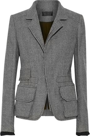 HAIDER ACKERMANN Houndstooth brushed-wool jacket