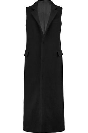 MSGM Fleece wool-blend waistcoat