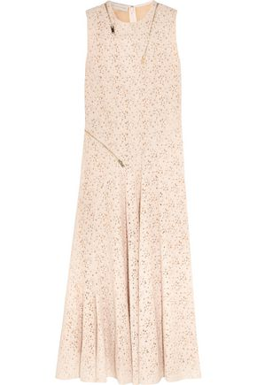 STELLA McCARTNEY Janelle zip-detailed lace gown