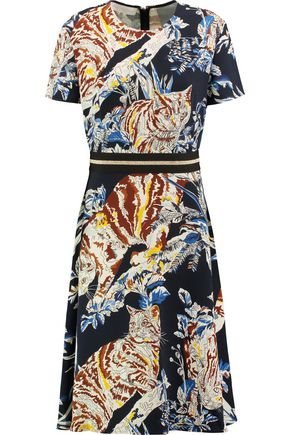 STELLA McCARTNEY Petra printed crepe dress