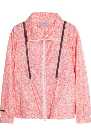 ADIDAS by STELLA McCARTNEY Run Performance printed Climalite® shell jacket