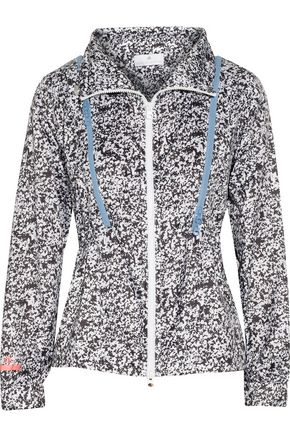 ADIDAS by STELLA McCARTNEY Run printed shell jacket