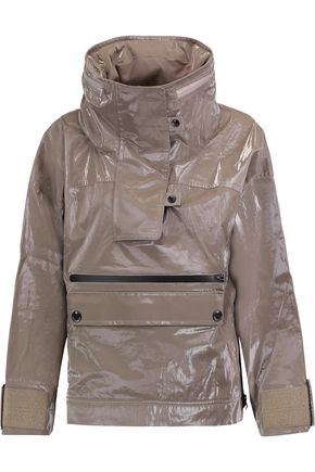 ADIDAS by STELLA McCARTNEY Hooded coated-shell jacket