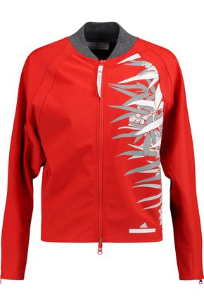 ADIDAS by STELLA McCARTNEY Studio Bamboo printed scuba-knit jacket