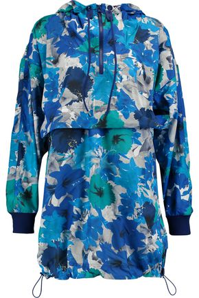 ADIDAS by STELLA McCARTNEY Run Blossom printed shell hooded jacket