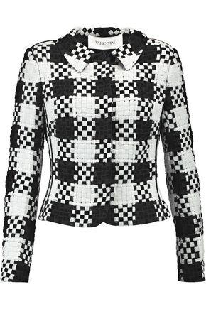 VALENTINO Woven silk jacket