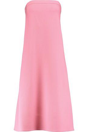 VICTORIA, VICTORIA BECKHAM Strapless wool-crepe dress