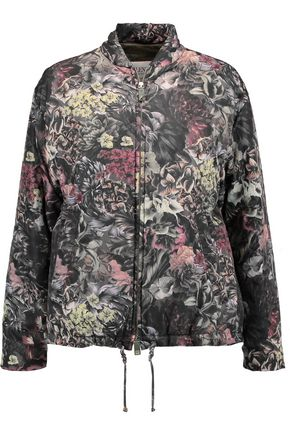 VALENTINO Quilted printed shell jacket