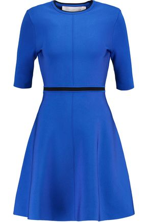 VICTORIA, VICTORIA BECKHAM Cutout stretch-knit mini dress