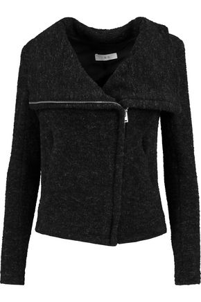 IRO Knitted biker jacket