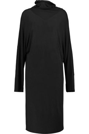 IRO Jersey turtleneck dress
