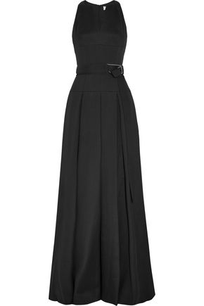 AMANDA WAKELEY Sahara wool and silk-blend gown
