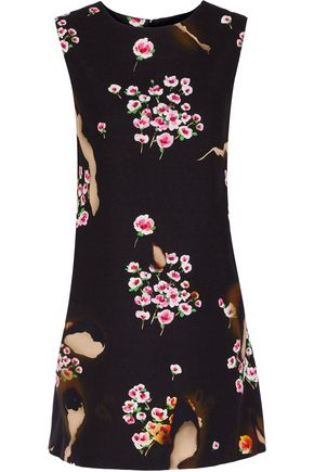 MOSCHINO Printed crepe mini dress
