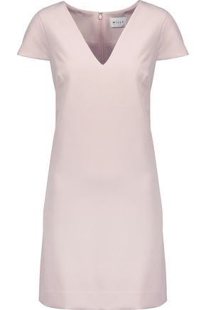 MILLY Eva crepe mini dress