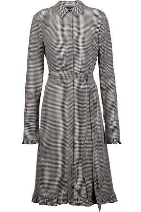 ALTUZARRA Laguna gingham twill dress