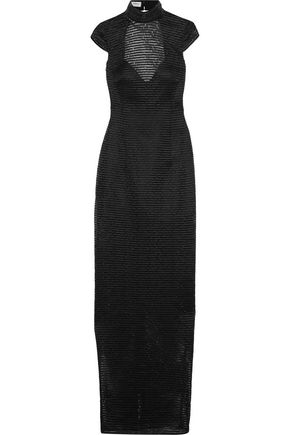 AMANDA WAKELEY Tsuchi embellished crocheted gown