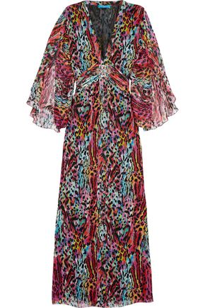 MATTHEW WILLIAMSON Printed silk dress