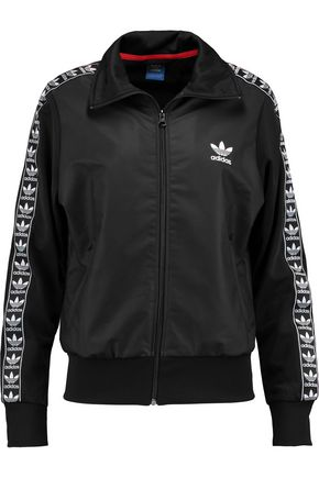 ADIDAS ORIGINALS Firebird printed coated-shell jacket