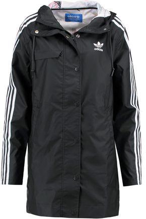 ADIDAS ORIGINALS IP Rain hooded coated-shell jacket