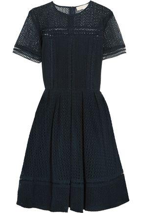 MICHAEL MICHAEL KORS Broderie anglaise cotton-blend dress