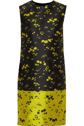 ERDEM Lowry floral jacquard mini dress