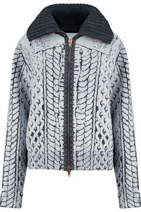 MAISON MARGIELA Chunky-knit wool cardigan