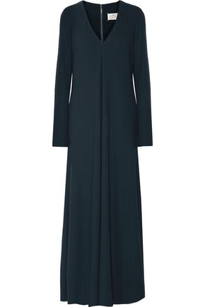 MAISON MARGIELA Draped crepe maxi dress