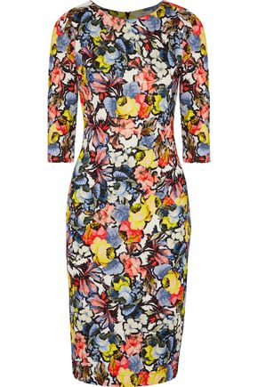 ERDEM Wilhelmina floral-print ponte dress