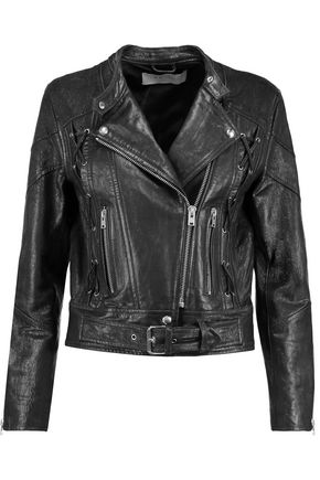 IRO Totem textured-leather biker jacket