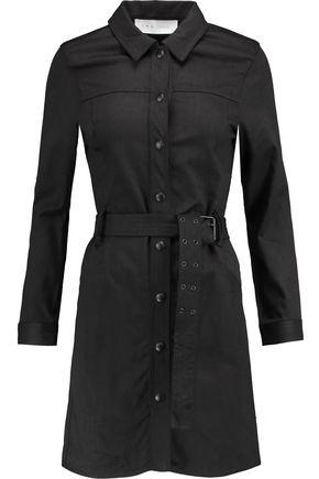 IRO Cotton-blend twill mini dress