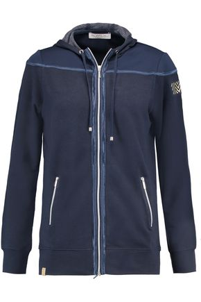 MONREAL LONDON Stretch-jersey hooded jacket