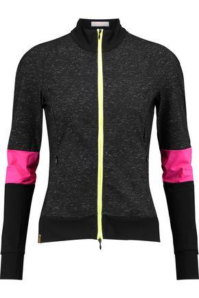 MONREAL LONDON Neon-paneled stretch jacket