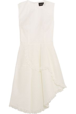 SIMONE ROCHA Ruffled lace mini dress
