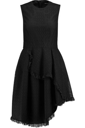 SIMONE ROCHA Asymmetric lace dress