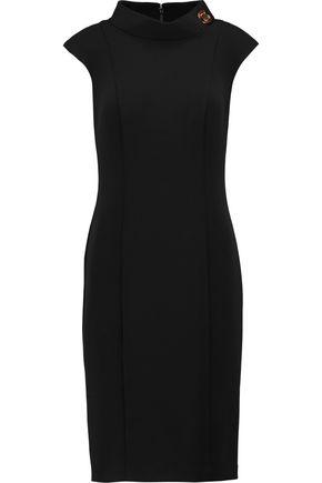 BADGLEY MISCHKA Stretch-twill dress