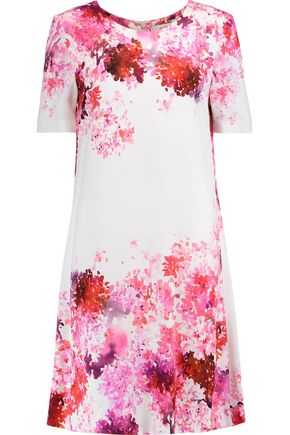 GOAT Dixie printed crepe dress
