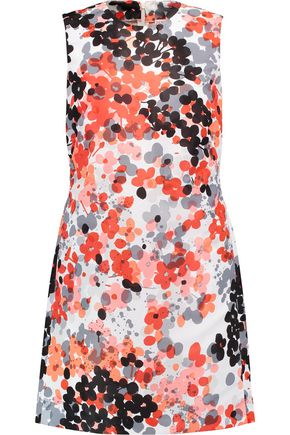 REDValentino Printed shell mini dress