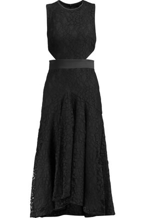 ALEXIS Maile cutout guipure lace midi dress