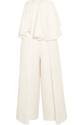 SOLACE LONDON Selena satin jumpsuit