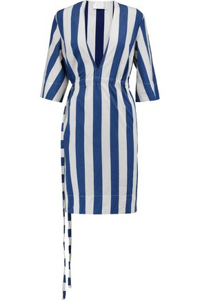 SOLACE LONDON Gerry striped cotton dress