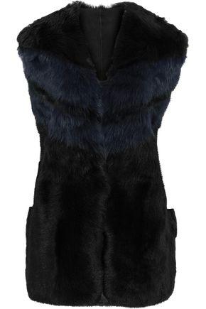 IRO Shearling vest
